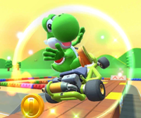 The icon of the Wendy Cup challenge from the Mario Bros. Tour and the Morton Cup challenge from the Mario Tour in Mario Kart Tour.