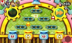 Conveyor Meltdown from Mario Party: Star Rush