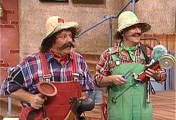 Mario Joe and Luigi Bob