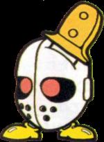 Artwork of a J-son, from Super Mario Land 2: 6 Golden Coins.