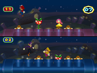 Mole it! at night from Mario Party 6
