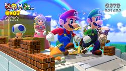 SM3DW Mega Mario and Co Screenshot.png