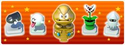 """In-game notification banner for """"Weekend Spotlight: Bowser's Minions"""" in Super Mario Run."""