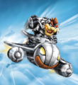 Skylanders Dark Bowser Clown Cruiser artwork.png