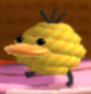 A Peeply from Yoshi's Woolly World.