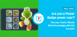 Icon for Yoshi's Woolly World Power Badges Quiz