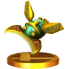 Beetle trophy