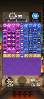 Stage 23C from Dr. Mario World
