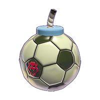 A Kick Bomb from Super Mario 3D World.