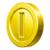 Coin from Mario Kart Tour.