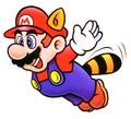 Raccoon Mario (Flying) - Super Mario Bros 3.png