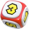 Artwork of Mario's Dice Block from Super Mario Party