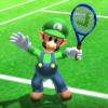 Luigi's taunt from Mario Sports Superstars