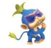 Artwork of the The Chimp from Super Mario Galaxy 2