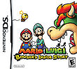 The North American cover of Mario & Luigi: Bowser's Inside Story.