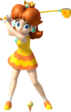 Princess Daisy artwork from Mario Golf: World Tour.