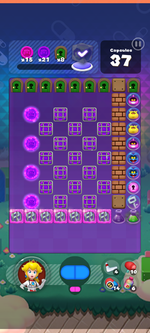 World 15's Special Stage from Dr. Mario World