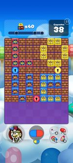 Stage 186 from Dr. Mario World since version 2.0.0