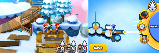 Location of the first item patch in Mount Brrr.