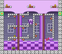 Level 10-6 map in the game Mario & Wario.