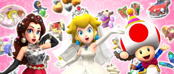 The Wedding Pipe 2 from the Wedding Tour in Mario Kart Tour