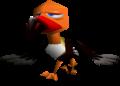 Klepto in Super Mario 64 (left) and Super Mario 64 DS (right)