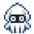 Blooper icon in Super Mario Maker 2 (Super Mario World style)