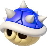 Spiny Shell in Mario Kart 8