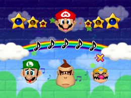 Look Away from Mario Party 2