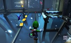 The Workshop Landing segment from Luigi's Mansion: Dark Moon.