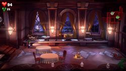 Restaurant, Mezzanine, Luigi's Mansion 3