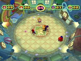 Catch You Letter at night from Mario Party 6