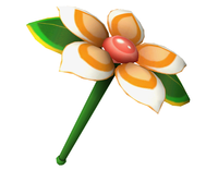 Artwork of a Lip's Stick from Super Smash Bros. Brawl.