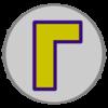 Waluigi emblem from Mario Kart 8