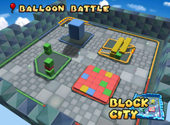 Block City battle track
