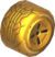 The Std_Gold tires from Mario Kart Tour