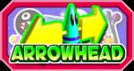 The logo for Arrowhead in Mario Party 3