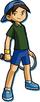 Artwork of Alex for Mario Tennis: Power Tour