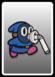 A Blue Slurp Snifit card from Paper Mario: Color Splash