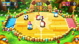Soccer Brawl from Mario Party 10.