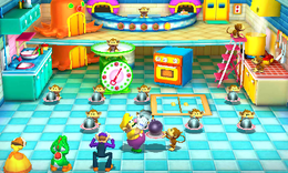 Strawberry Shortfuse from Mario Party: The Top 100