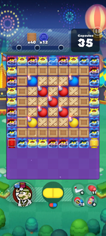 Stage 649 from Dr. Mario World