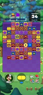 Stage 991 from Dr. Mario World