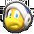 Boomerang Bro's icon from Mario Kart Tour