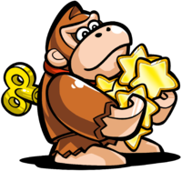 Mini Donkey Kong in Mario vs. Donkey Kong: Tipping Stars.