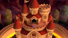 A map of Peach's Castle in New Super Mario Bros. U