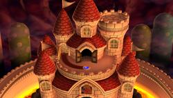 NSMBU Peach's Castle World Map.png