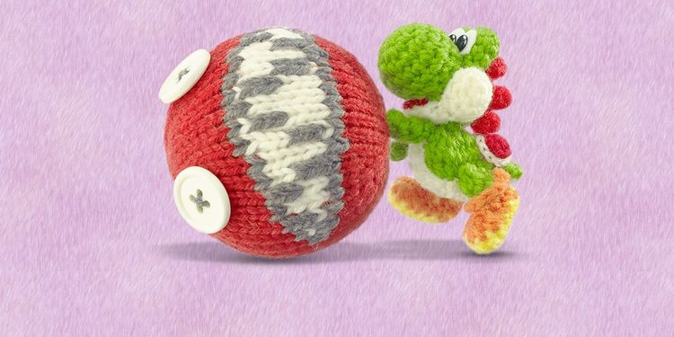The image for the 1st question of Poochy & Yoshi's Woolly World Fun Personality Quiz