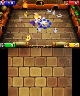 Rat-a-tat Flat from Mario Party: Island Tour