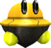 Rendered model of the Topmini enemy in Super Mario Galaxy.